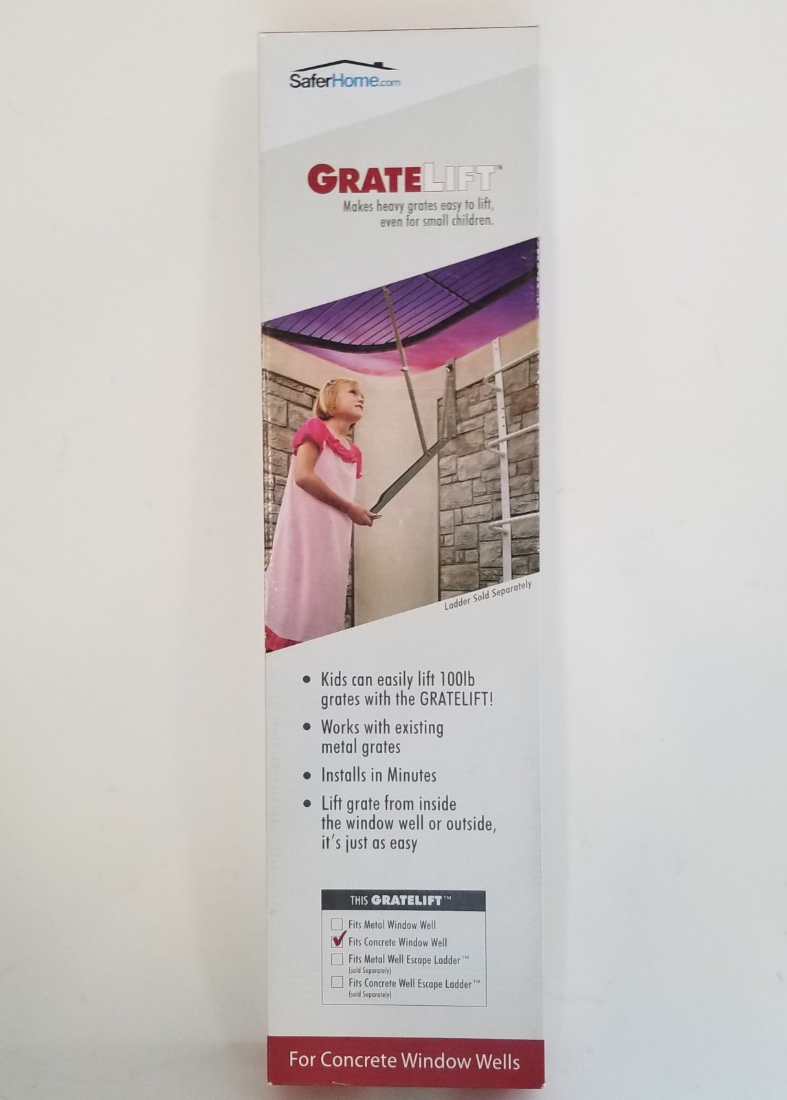 Grate Lift - Cement