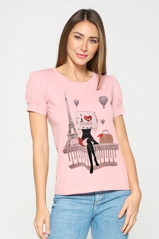 Paris Graphic T-shirt