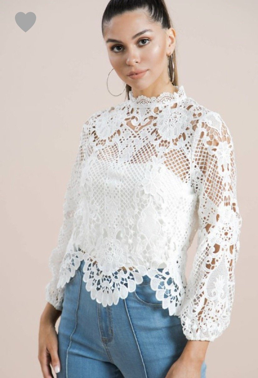 Her So Lacey Top
