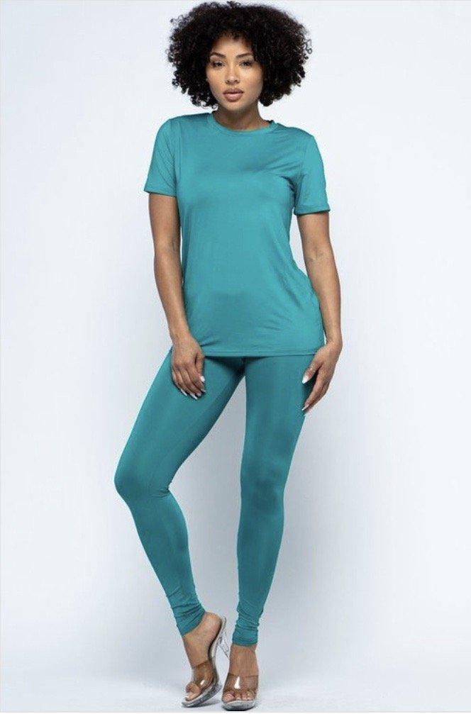 T-shirt Legging Set