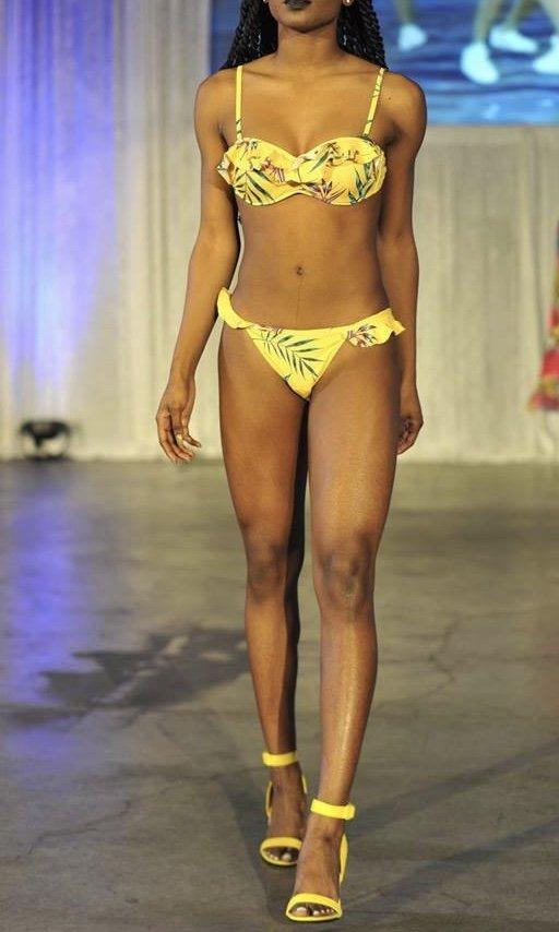 2pc Floral Swimsuit
