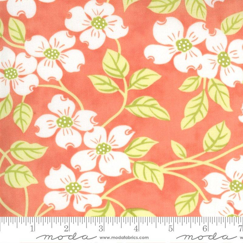 Strawberries & Rhubarb Fabric by Moda Fabric