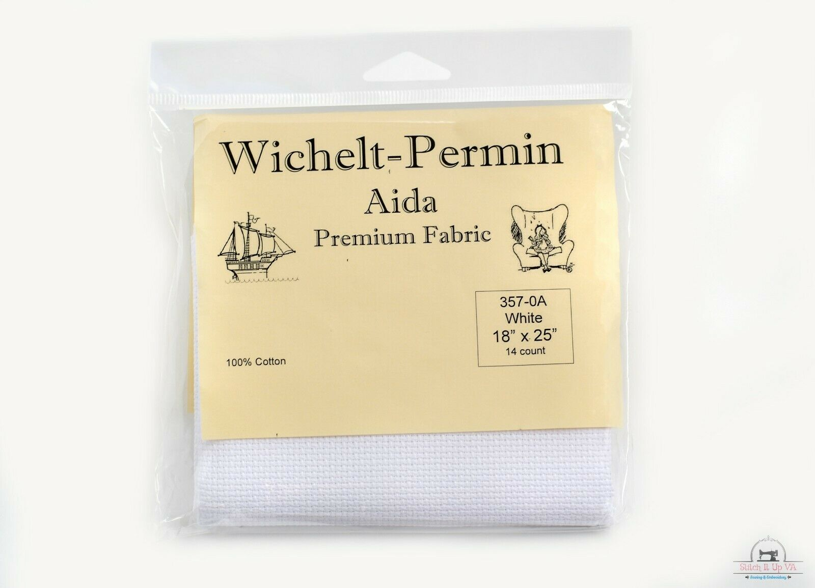 Aida 14 Count Fabric by Wichelt-Permin