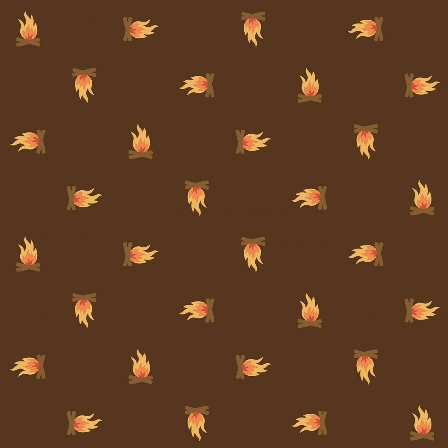 Campfire Fabric by RJR Studio Camping Crew Collection Sold By the Yard