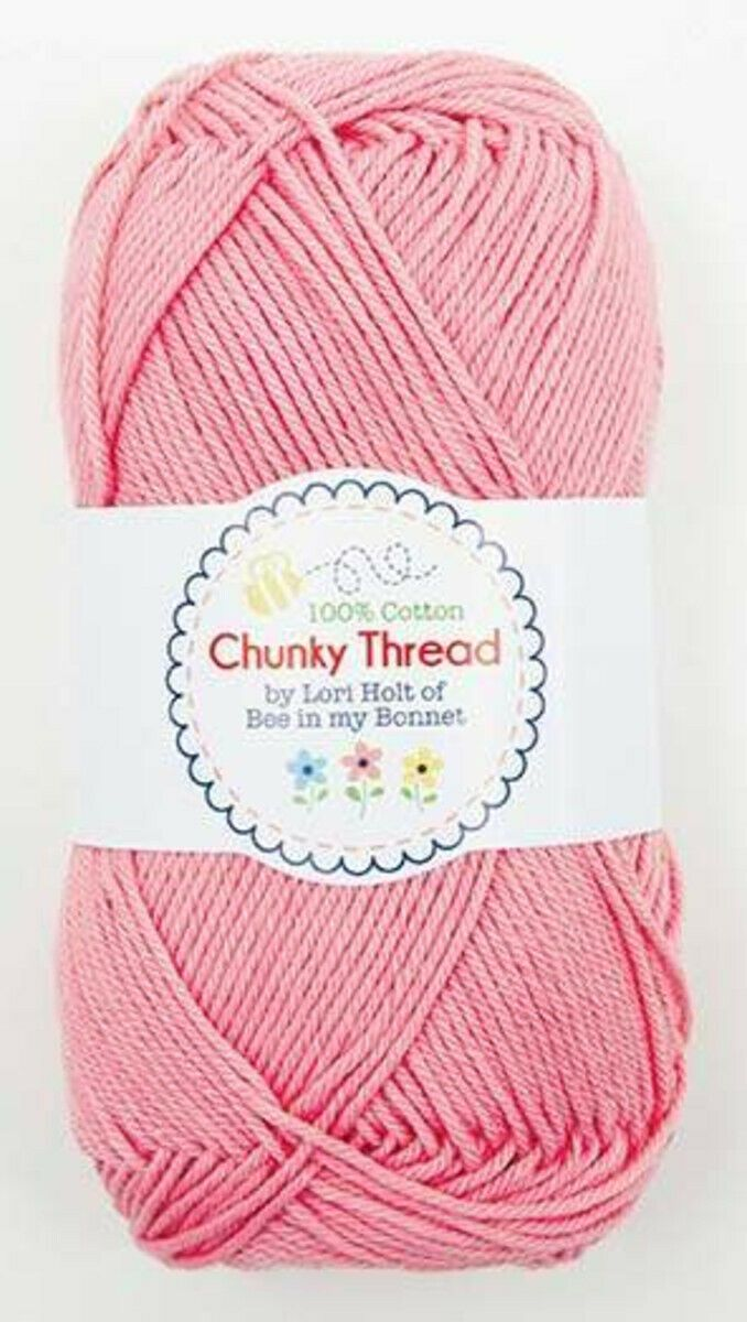 Chunky Thread 100% Cotton by Lori Holt (50g skein)