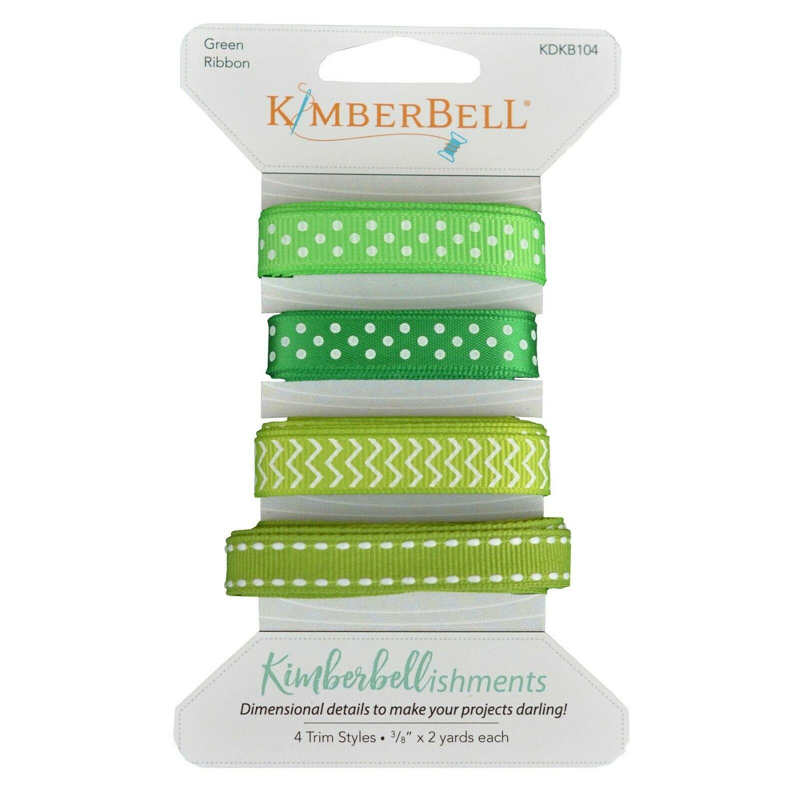 Kimberbellishments Green Ribbon