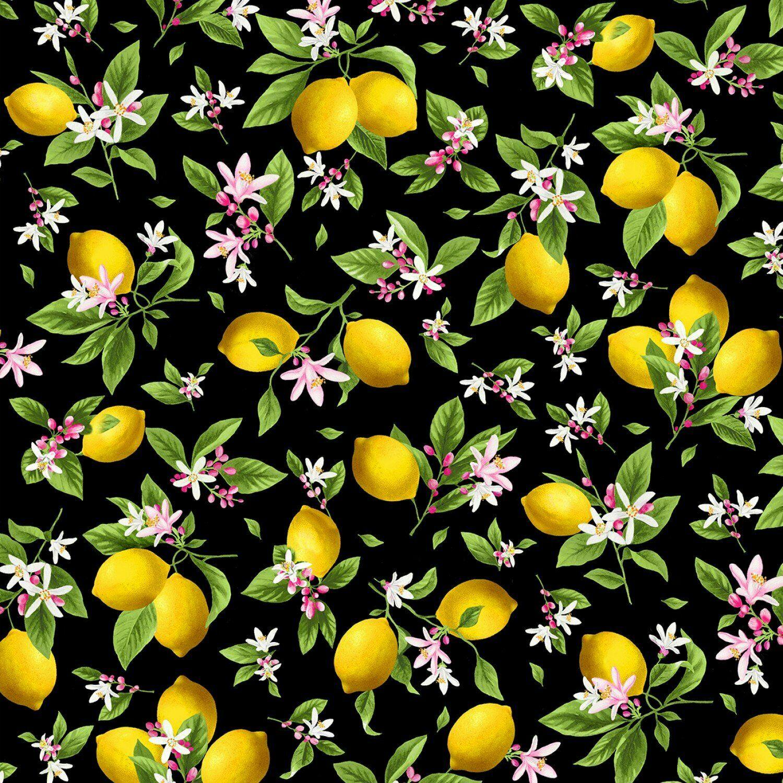 Make Lemonade Fabric by Timeless Treasures