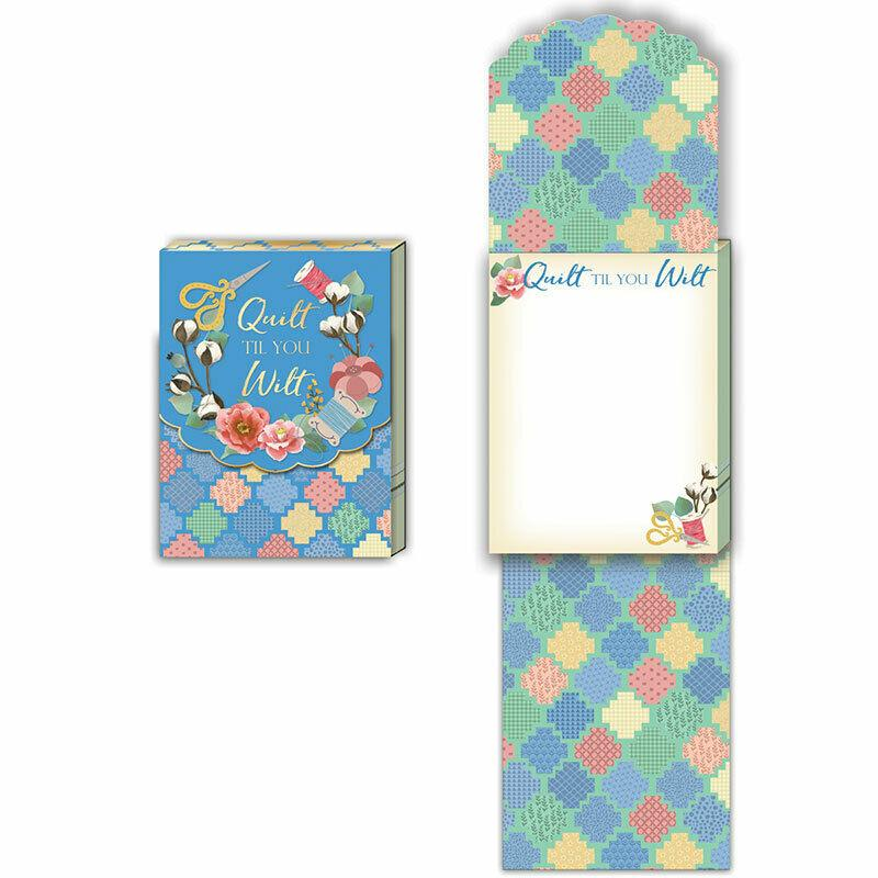 Pocket Notepads Sew Each Day by Moda Fabrics