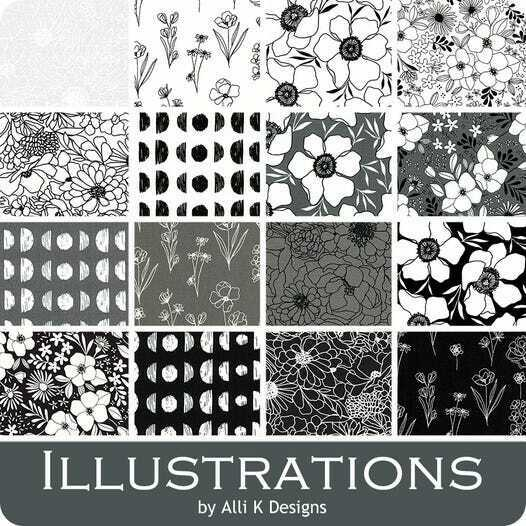 Illustrations By Moda Charm Pack 5 42 Squares