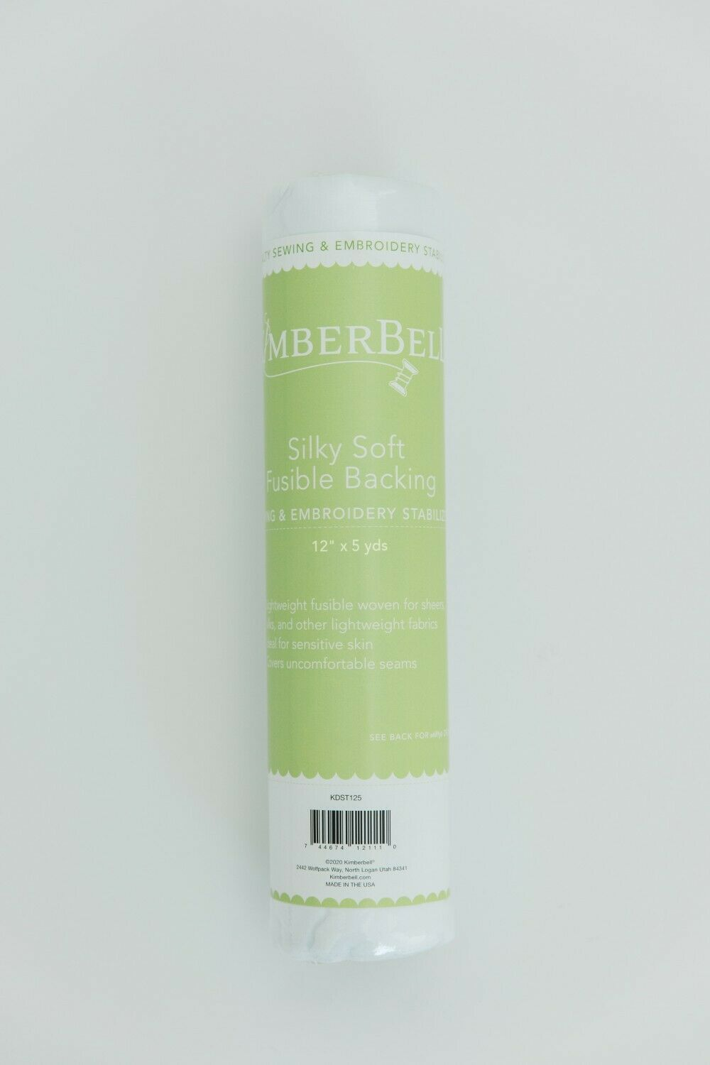 SILKY SOFT FUSIBLE BACKING by Kimberbell 12x5 yards