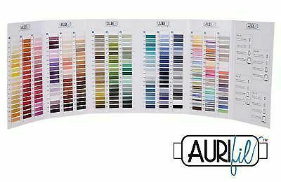 Aurifil Cotton Color Card Chart