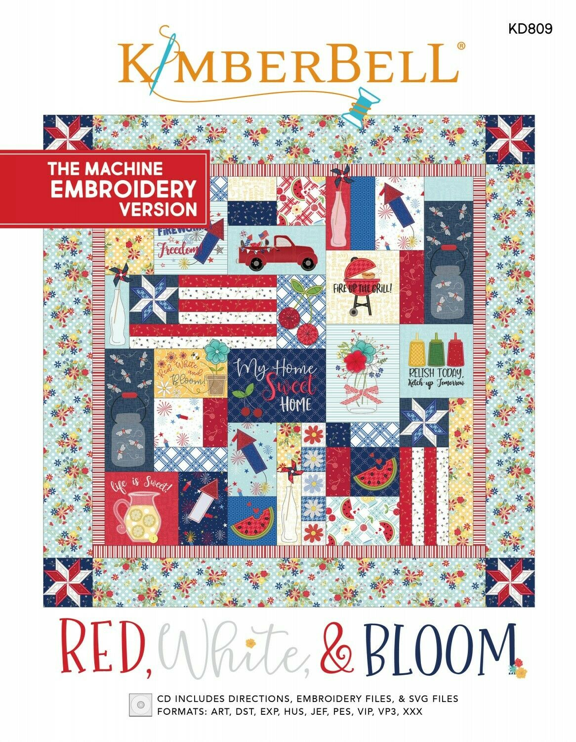 RED, WHITE & BLOOM ME CD by Kimberbell