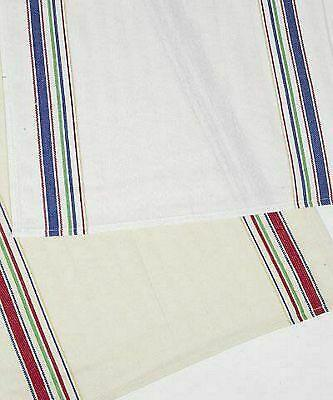 VINTAGE DISHTOWEL BLUE ON WHITE (1) by Dunroven House