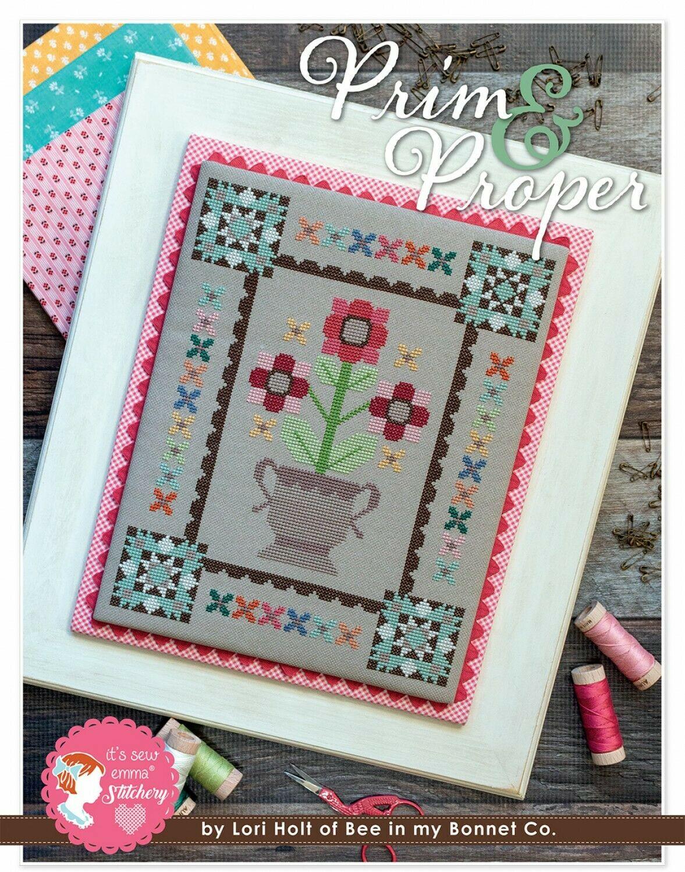 Prim & Proper Cross Stitch Pattern by Lori Holt