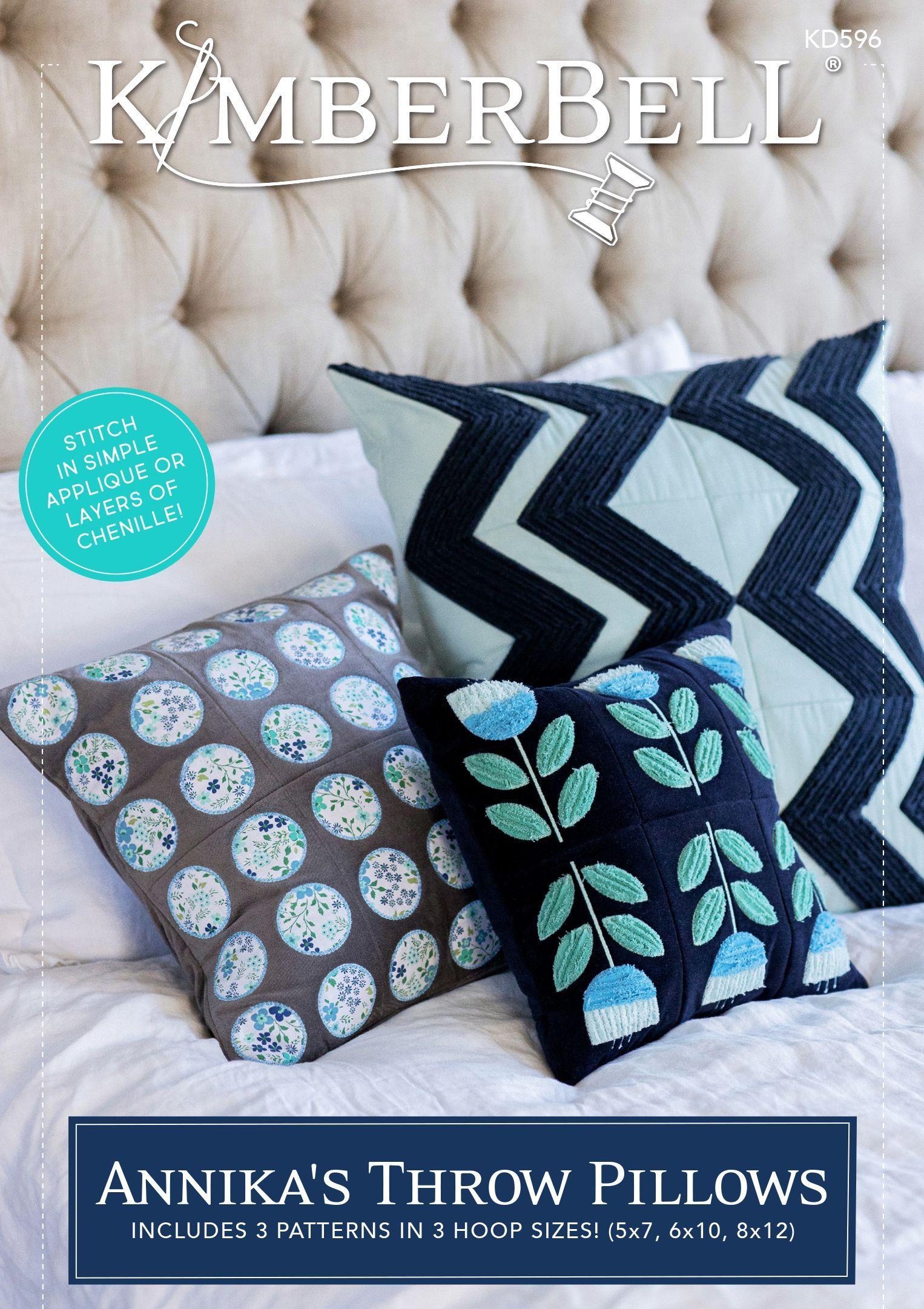 Annika's Throw Pillow ME CD by Kimberbell