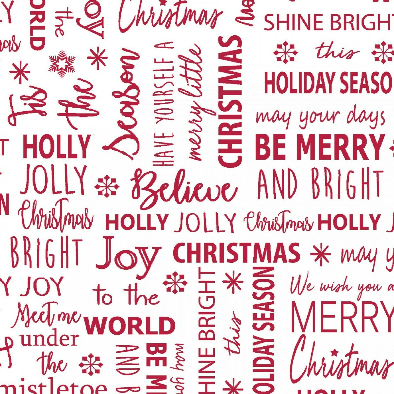 Joy Holiday Fabric by Contempo SBY