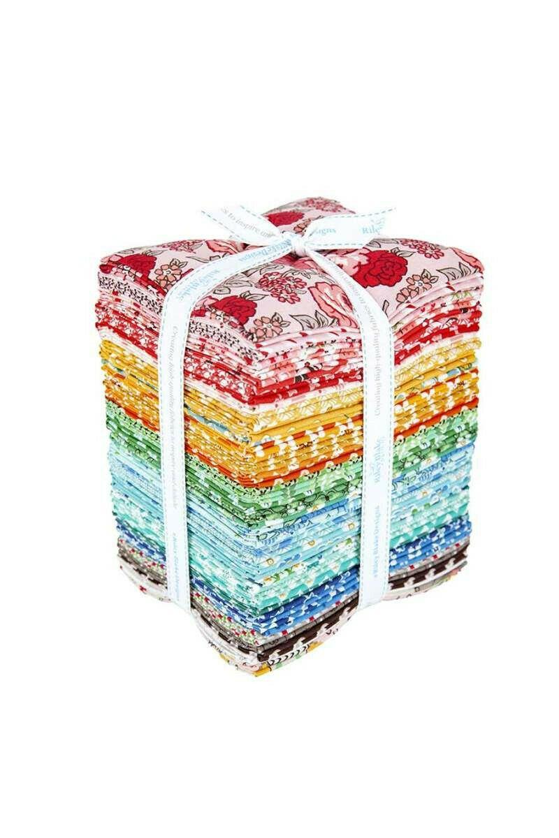 Flea Market Fat Quarter Bundle Fabric by Lori Holt For Riley Blake 42Pcs *NEW*