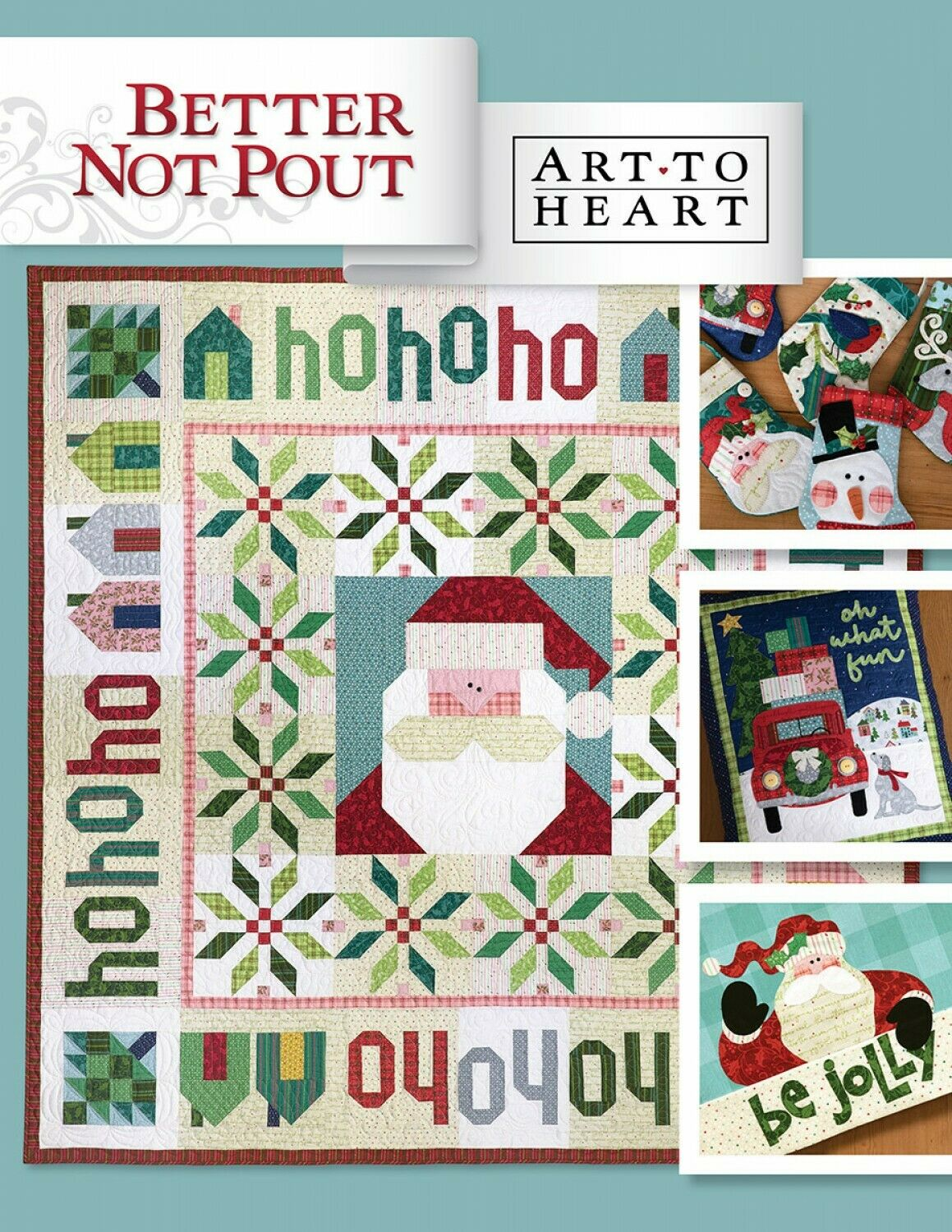 Better Not Pout Sewing Project Book by Art To Heart