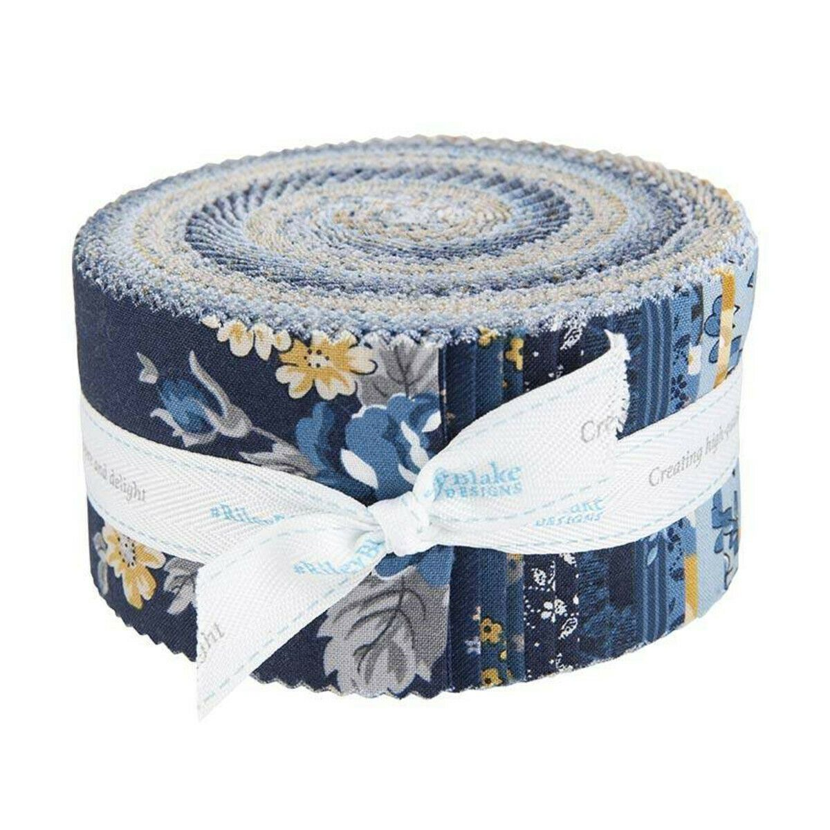 Delightful Fabric Strips 2.5 pre cut by Riley Blake