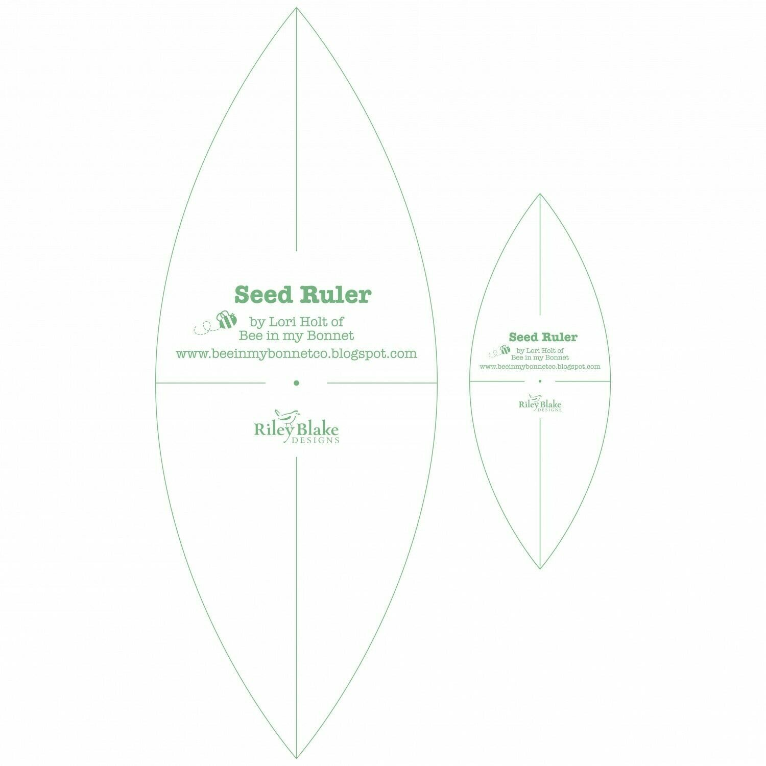 SEED RULER SET by Lori Holt