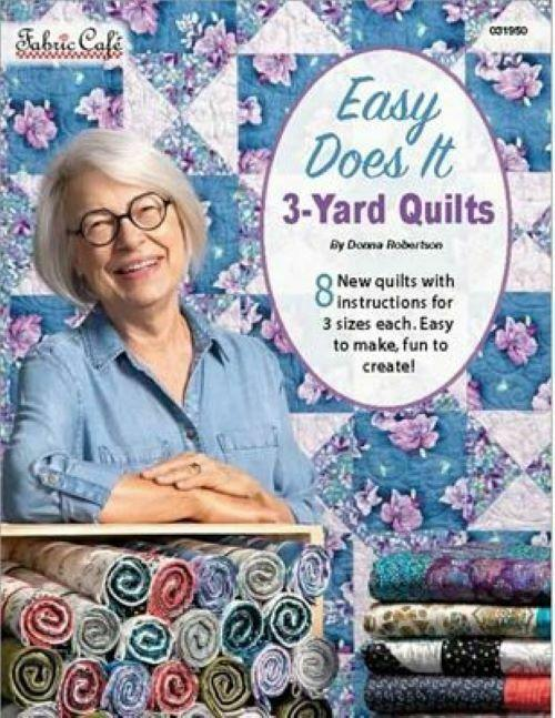 Fabric Cafe Easy Does It 3-Yard Quilts (Pattern Book)