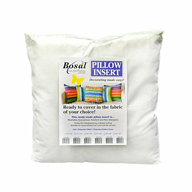 Pillow Insert 12x12 White by Bosal