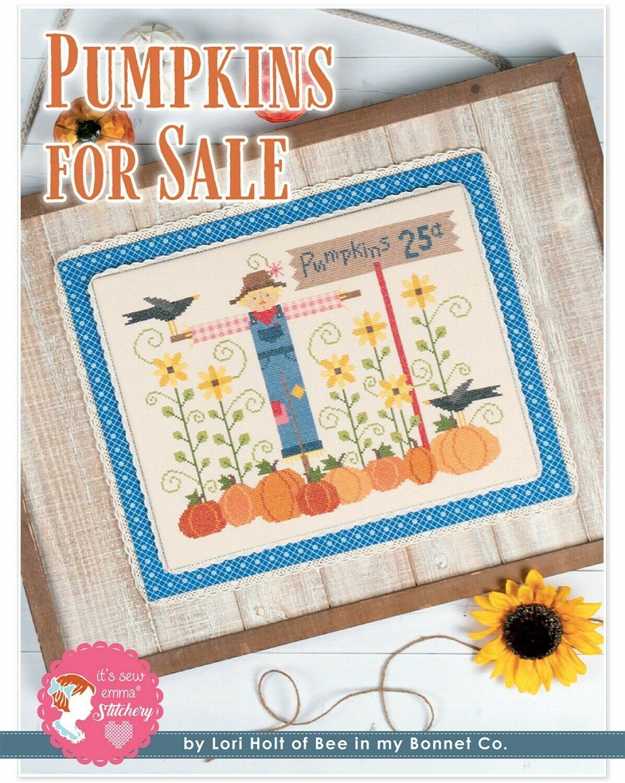 Pumpkins for Sale Cross Stitch by Lori Holt