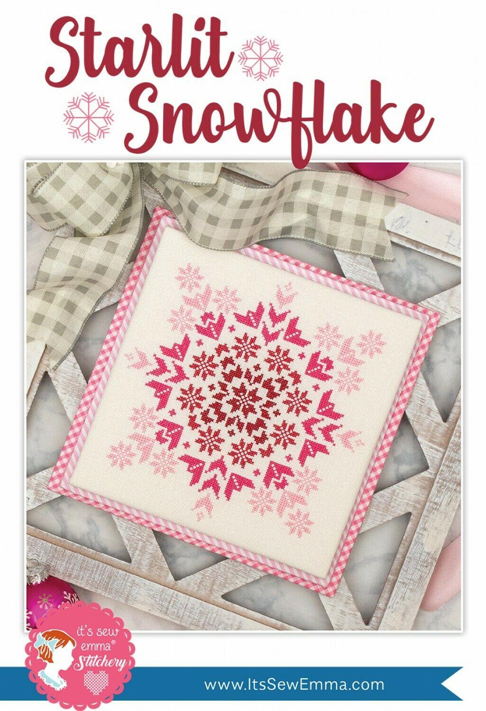 Starlit Snowflake Cross Stitch Pattern by It's Sew Emma
