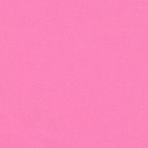 Candy Pink Solid Kona Fabric by Robert Kaufman SBY