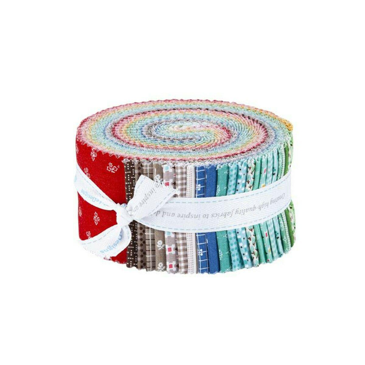 Prim Fabric Strips 2.5 40pcs by Riley Blake