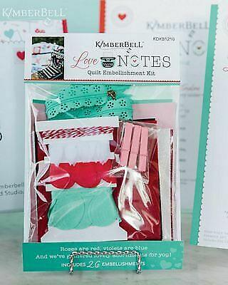Love Notes Embellishment Kit by Kimberbell Designs