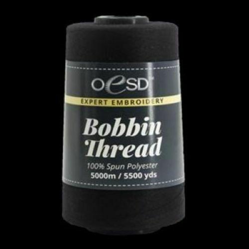 OESD BOBBIN THREAD BLACK 5000m/5500yds