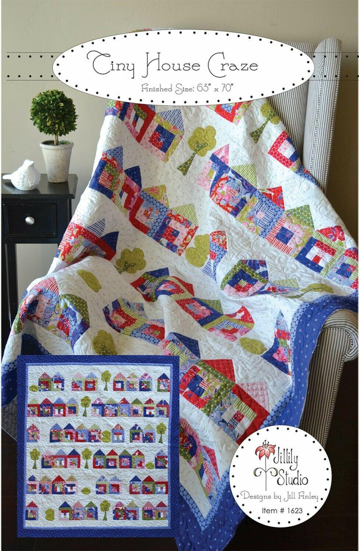Tiny House Craze Quilt Pattern by Jillily Studio