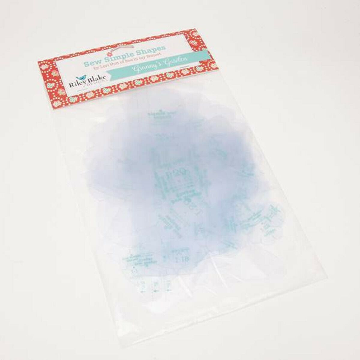 Lori Holt Granny's Garden Sew Simple Shapes Clear Plastic