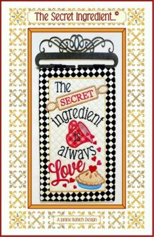 THE SECRET INGREDIENT ME CD by Janine Babich Design