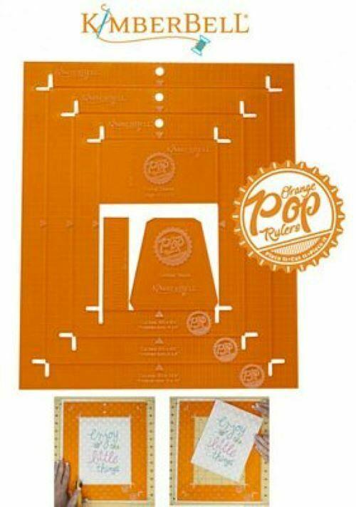 ORANGE POP RULER RECTANGLE by Kimberbell
