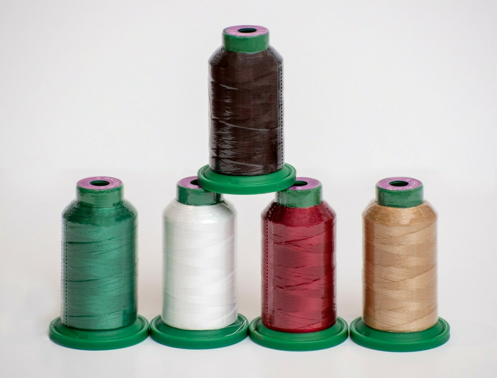 ISACORD THREAD 1000m HOLIDAY KIT 5 count