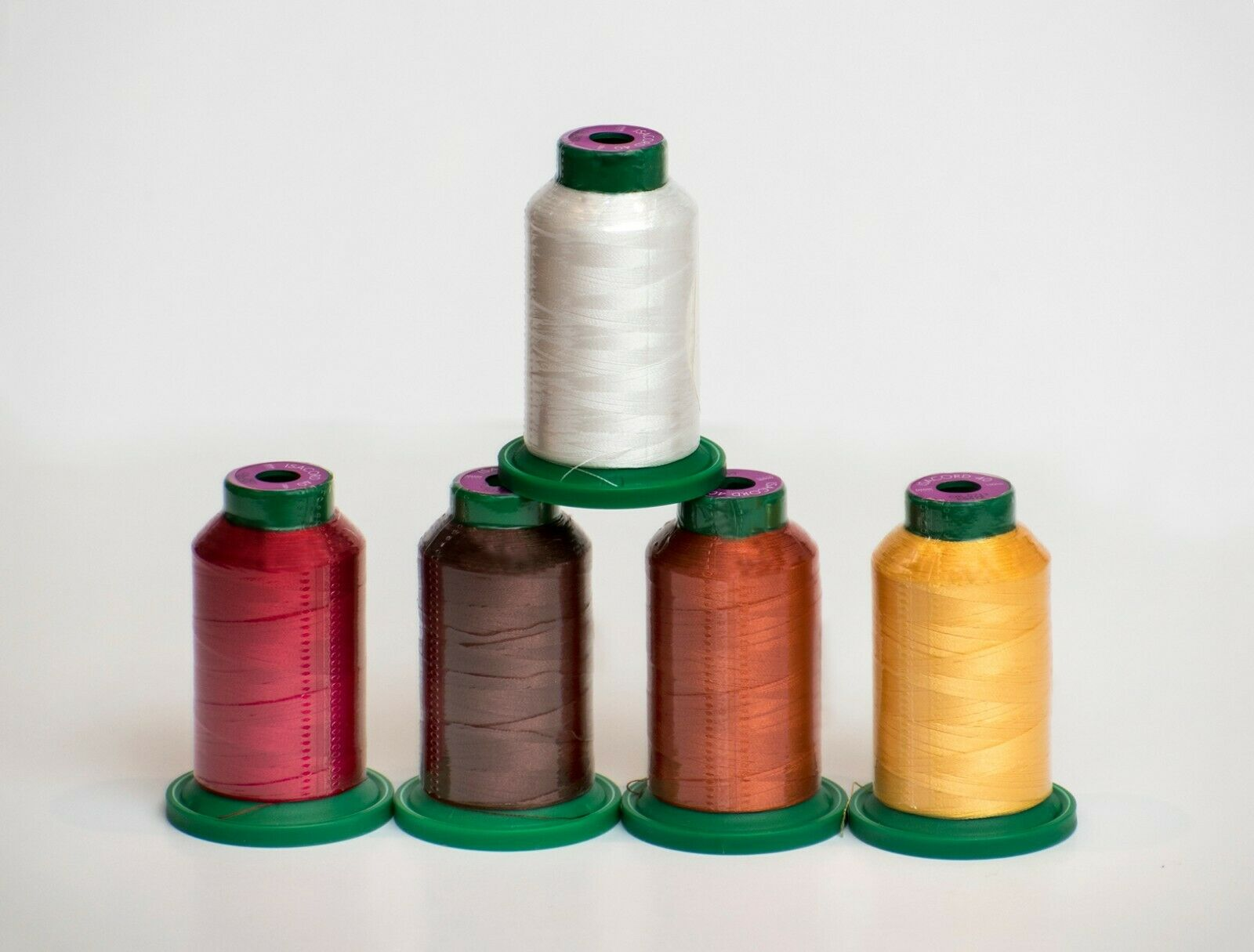 ISACORD EMBROIDERY THREAD 1000m FALL KIT- 5 count