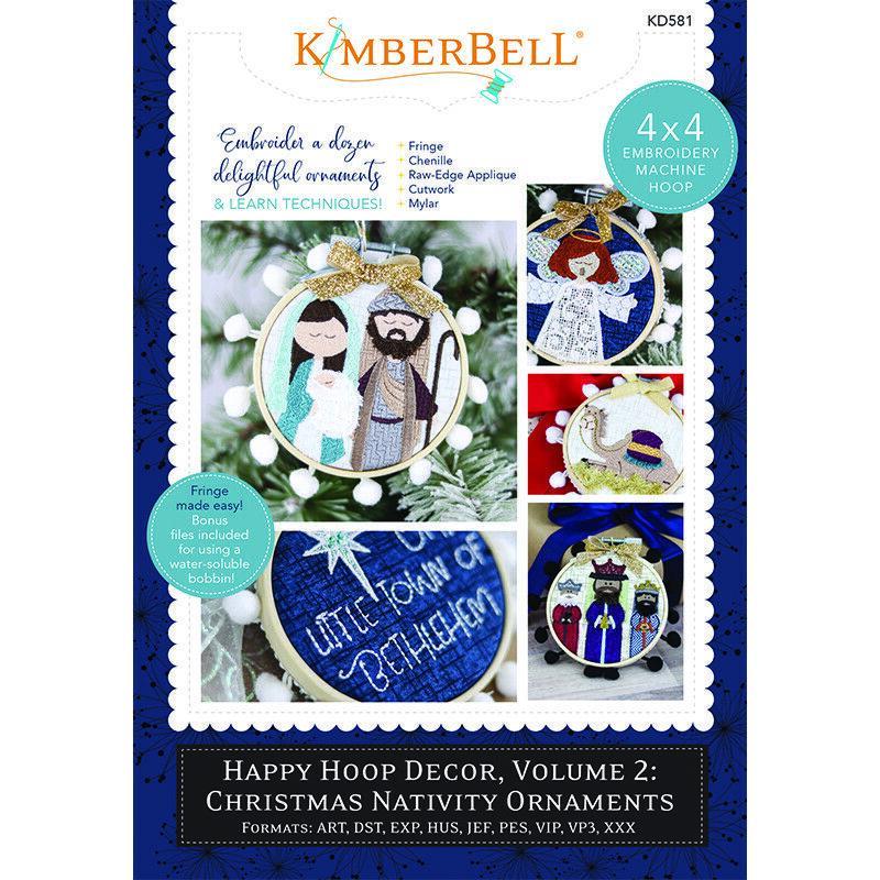 CHRISTMAS NATIVITY ORNAMENTS, HAPPY HOOP DECOR, VOL 2 ME CD