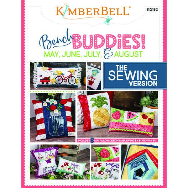 """KIMBERBELL """"BENCH BUDDIES"""" SERIES (MAY, JUNE, JULY, AND AUGUST) SEWING VERSION"""