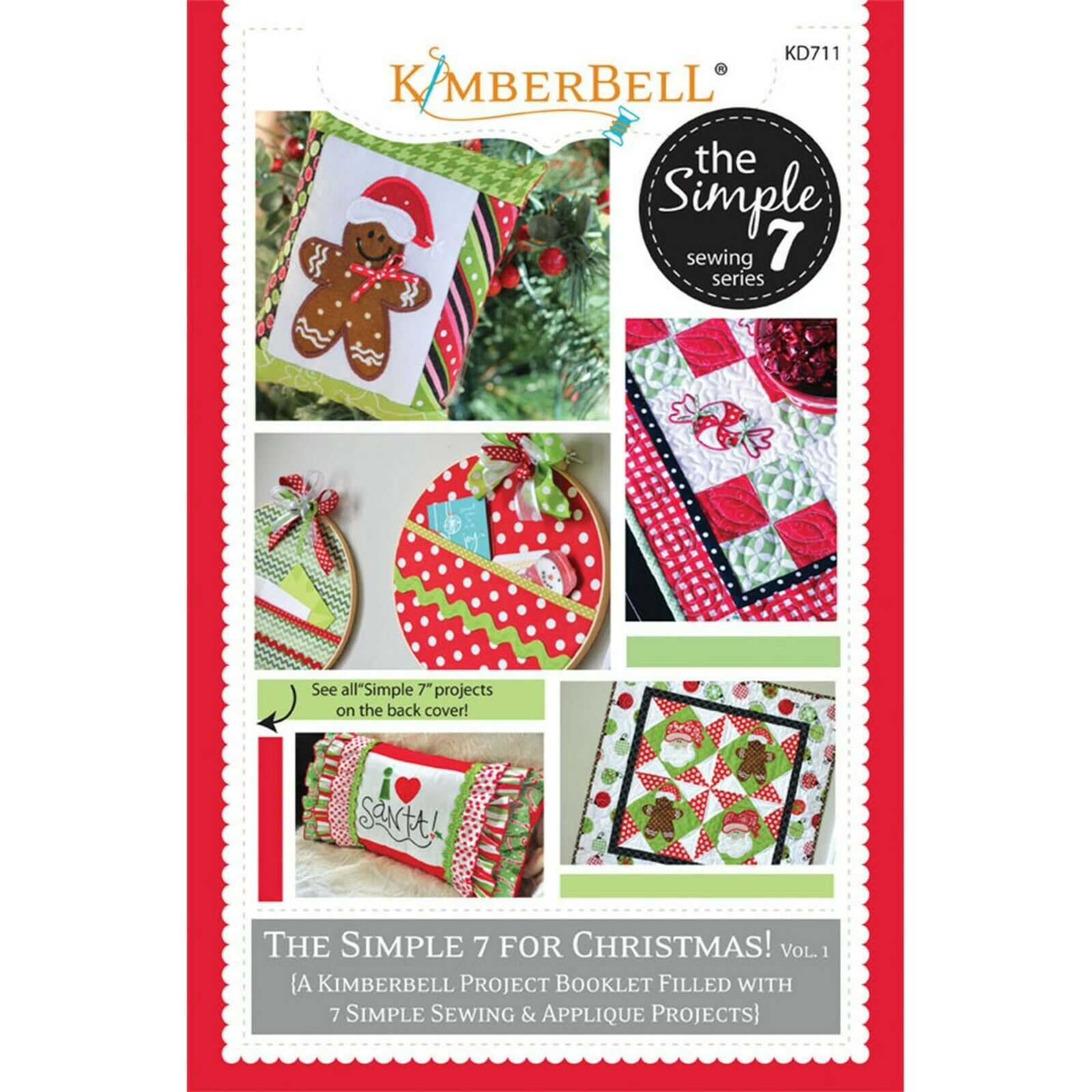 KIMBERBELL THE SIMPLE 7 FOR CHRISTMAS! Vol 1  Project Booklet