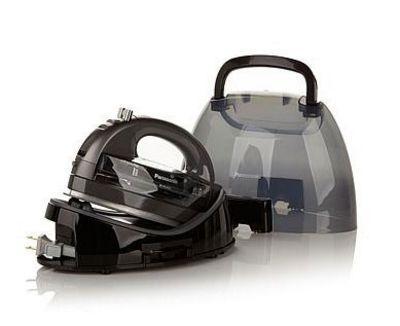 Panasonic 360º Ceramic Stainless Steel Cordless Freestyle Iron (charcoal)
