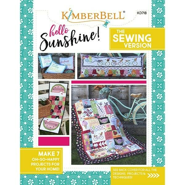KIMBERBELL HELLO SUNSHINE THE SEWING VERSION 7 PROJECTS