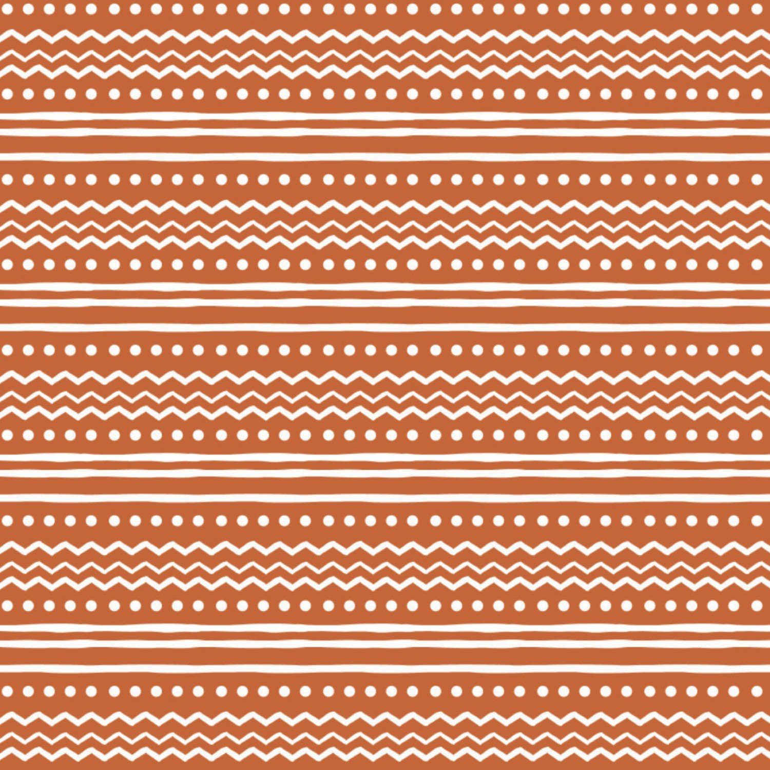 Brown Nordic Stripe Fabric by Camelot Fabrics