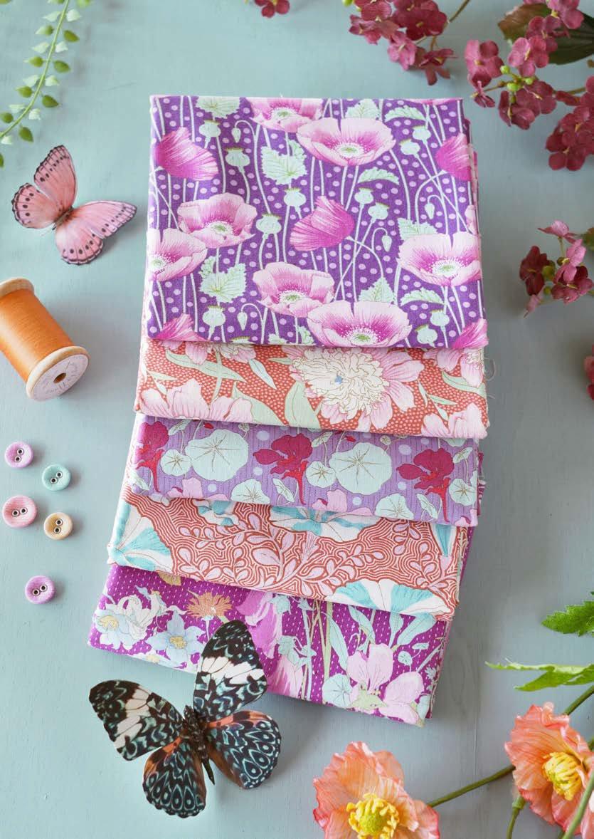 Tilda GardenLife- FQB 5 fabrics