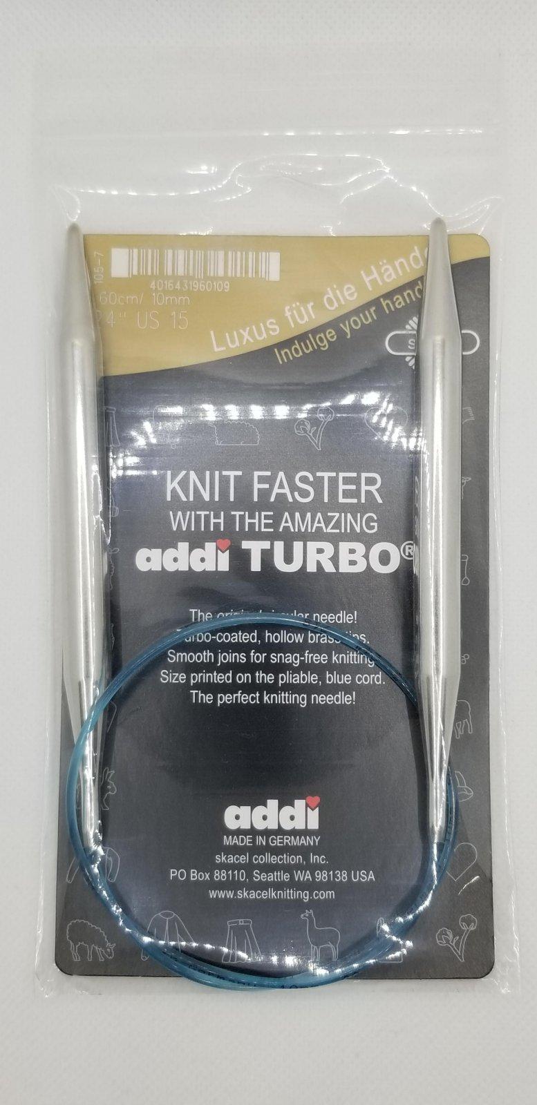 Addi Turbo 24 10.0mm/ US15