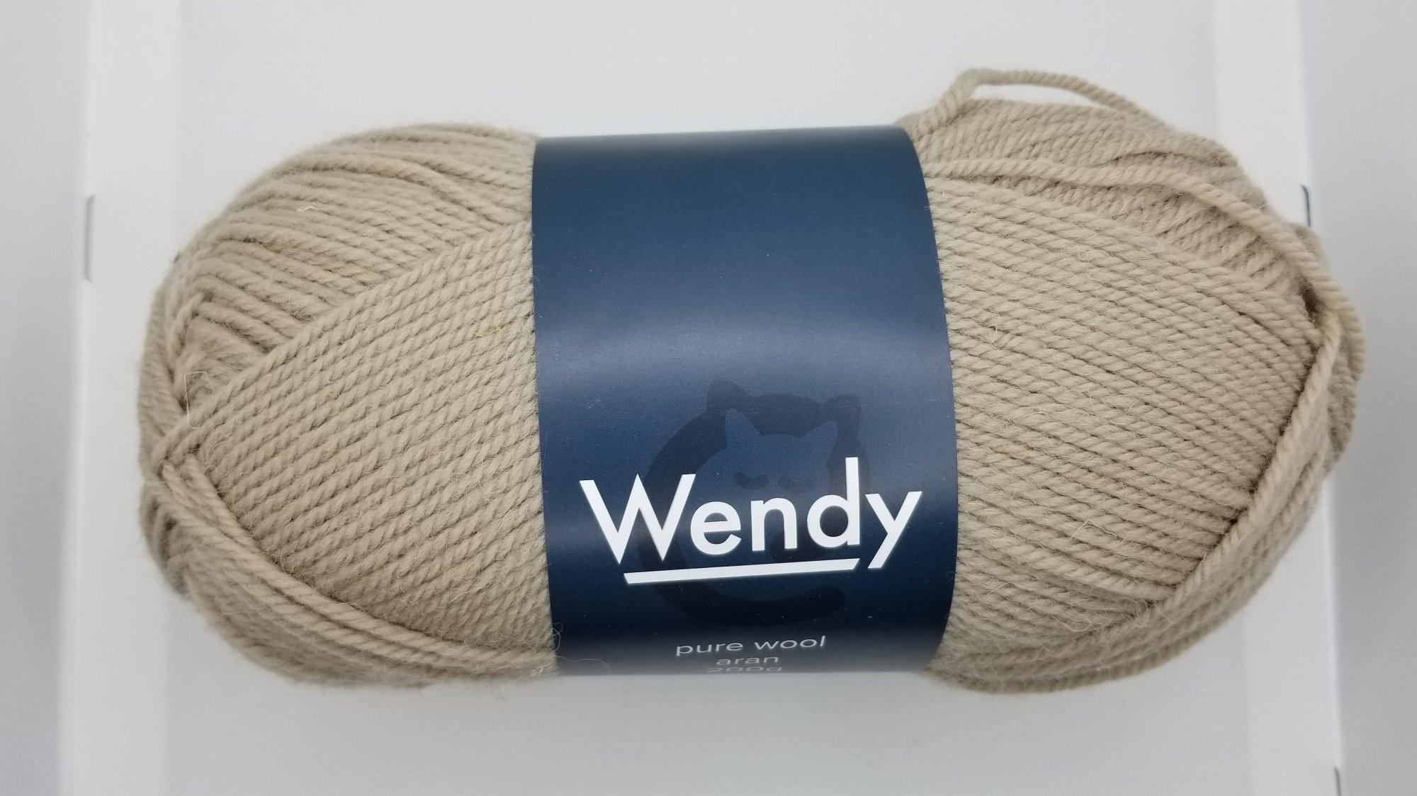 Wendy Pure Wool Aran
