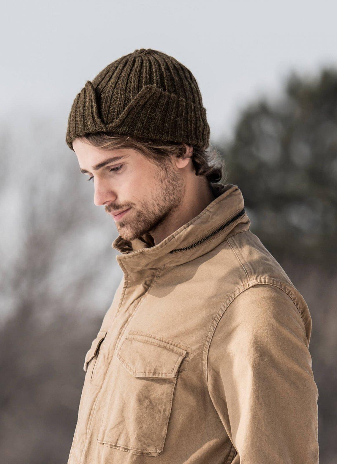 Split Rib Hat Pattern