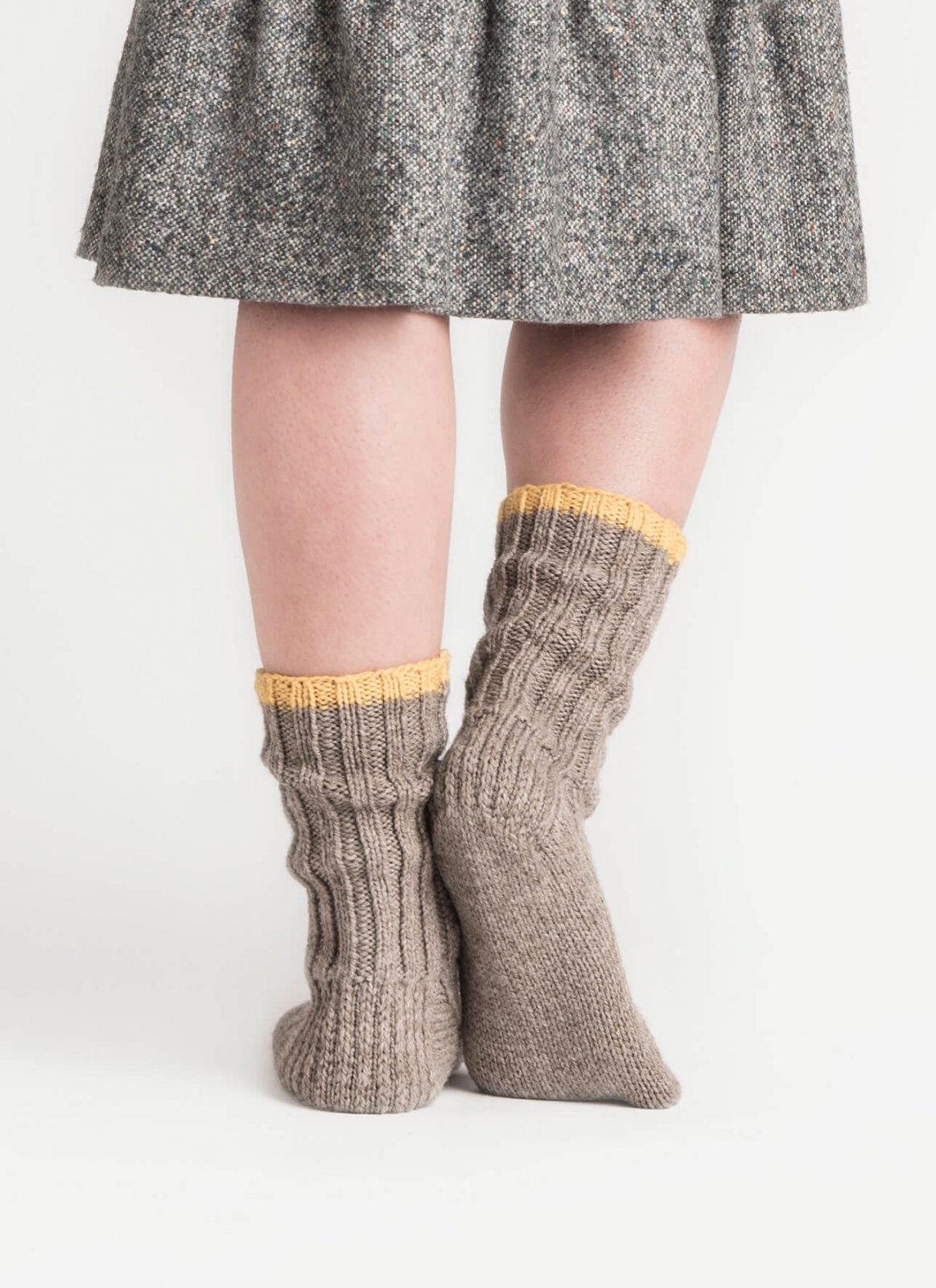 Sanborn Socks Pattern