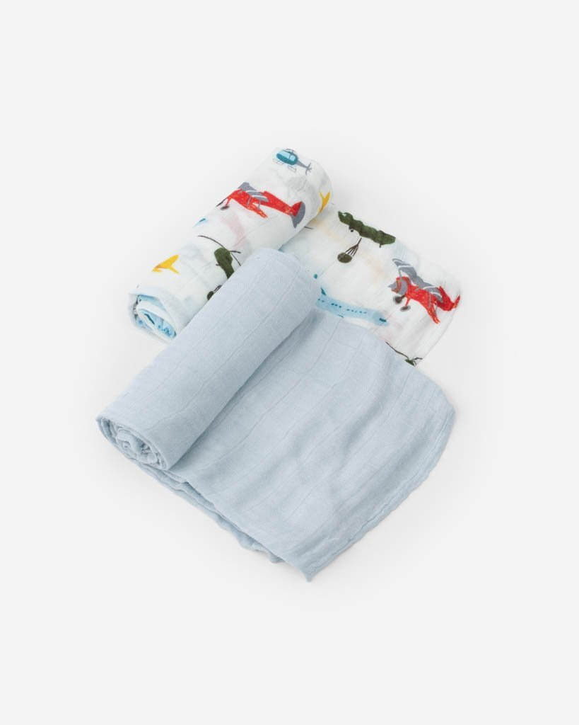 Deluxe Muslin Swaddles Air Show